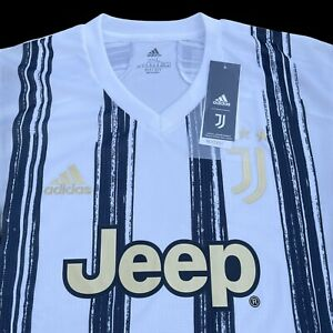 Adidas Juventus 20/21 Authentic Home Soccer Jersey GJ7601 Mens 2XL $130