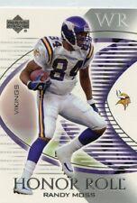 Randy Moss 2003 Upper Deck  honor roll # 22 Minnesota Vikings