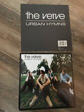 1997 The Verve Urban Hyms Album Promo 2 Sided Poster Flat Rare - 12 x 12