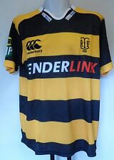 TARANAKI  S/S RUGBY JERSEY BY CANTERBURY SIZE ADULTS XXL BRAND NEW WITH TAGS