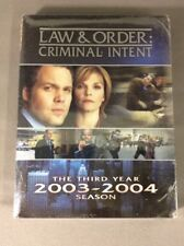 Law & Order Criminal Intent - The Third Year 2003-2004 Season (DVD)-1795-255-017