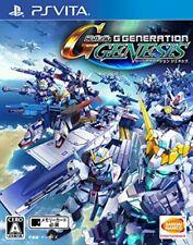 USED PS Vita SD Gundam G Generation Genesis game soft