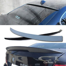 COMBO Unpainted BMW F10 3D Rear Roof + Performance High Kick Trunk Spoiler 10+