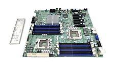 Supermicro X8DTE Dual Socket 1366 E-ATX Motherboard DDR3 SATA2 w/ I/O Shield