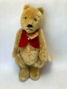 """Vintage 1986 BEARLING BEARS Hand Made 12in """"Pooh A Bear"""" with Errors"""