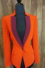 "NWT$458.00Marc By Marc Jacobs Clothing ""SPARKS CREPE BLAZER"" SZ:6"