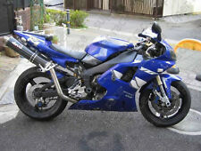 ABS Blue decal White Fairing Bodywork Injection Kits For 1998-1999 Yamaha YZF R1