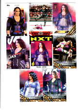 Nia Jax Wrestling Lot of 8 Different Trading Cards 1 Insert WWE TNA NJ-B1