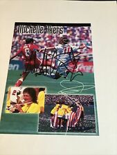 Michelle Akers Womens National Team World Cup Signed Photo Post Card