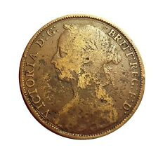 1889 ONE PENNY OF QUEEN VICTORIA     #BZS44