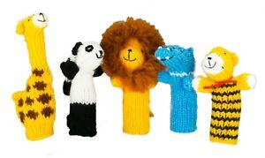 Machu Picchu Stars Handmade Finger Puppets – Set of 5 (Zoo Buddies)