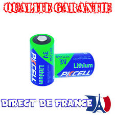 2 Piles PKCELL ULTRA PHOTO CR2 / Lithium 3V QUALITE GARANTIE