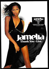 Jamelia - Thank you - Live  -DVD-  NEU+UNGESPIELT/MINT-NICHT IN FOLIE!