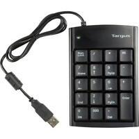 Targus PAUK10U PAUK10U Ultra Mini USB Keypad USB 19 Keys  Silver neu OVP