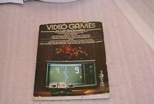 1977 Video Games By Len Buckwalter RARE Early Book Reader Copy Mid Grade