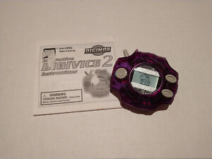 BANDAI Digimon Digivice 1999 D2 Working With Original Manual