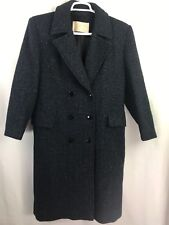 Pendleton Women's Trench Coats 100% Virgen Wool Shoulder Pads Made USA