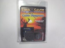 NEW LIMB SAVER BLACK CABLE DAMPENERS BOW NOISE & VIBRATION REDUCTION