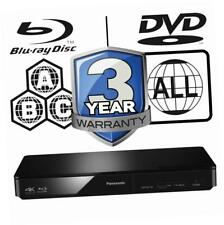 Panasonic DMP-BDT180EB Smart 3D 4K Multi Region Blu-ray Player