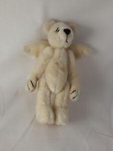 "World of Miniature Bears By Theresa Yang 3.5"" Plush Bear Angelo #858 Closing"