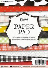 Paper-pad Papier-block Punkte Karo Kuhflecken Flower A6 Studiolight PPSL143