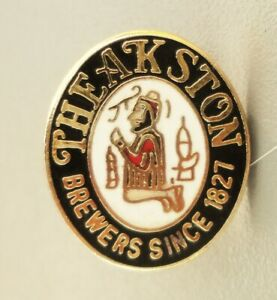 Theakston's Brewery Lapel Pin Badge