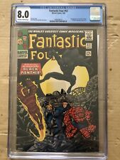 Fantastic Four #52 🔥 1st Appearance of Black Panther (T-Challa) 🔥 CGC 8.0 OW-W