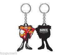 El Dr. Eggman-Sonic the Hedgehog-goma llavero/keychain/keyring