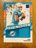 2020 Donruss Tua Tagovailoa Rookie Phenoms Relic Patch Blue Parallel 🔥🔥