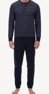 Perofil Italy Serafino men's pajamas in Soft Cotton jersey