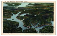 Mid-1900s Lake Tahkenitch, near Reedsport, OR Postcard