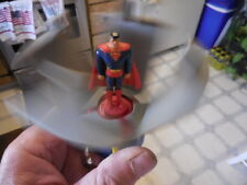 """Superman"" Phone Booth Toy~Animated Series Burger King Fast Food  FREE shipping"