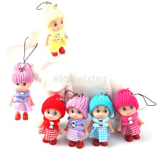 5Pcs Cute Children Toys Soft Interactive Baby Dolls Toy Small Gift Unisex Latest
