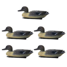 5 Pieces Floating Male Duck Decoy Hunting Drake Decoys Garden Yard Ornaments