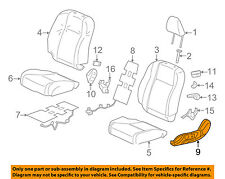 HONDA OEM 12-15 Civic Front Seat-Cushion Bottom Cover Left 81638TS8A01ZC