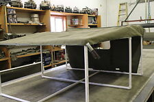 Willys MB Ford GPW Canvas Summer Top, Reinforced Original Equipment Design