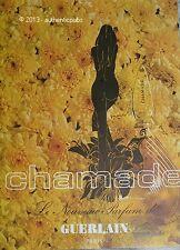 PUBLICITE ANCIENNE 1970 GUERLAIN PARFUM FRENCH ORIGINAL PERFUME AD ADVERT