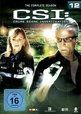 6 DVDs * CSI : LAS VEGAS  - STAFFEL / SEASON 12 # NEU OVP §