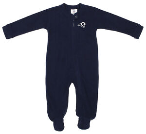Outerstuff NFL Infants Los Angeles Rams Blanket Sleeper Coverall