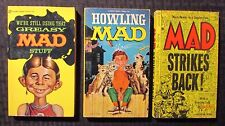 1963/67/73 MAD Magazine Paperback Greasy Howling Strikes FN-/FN+ 11th/7th/19th