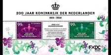 Sint Eustasius - Postfris / MNH - Sheet 200 Years Kingdom Netherlands Saba 2016