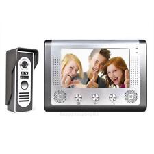 7'' Video Door Phone Doorbell Intercom Safety System Kit 1-Camera 1-Monitor US