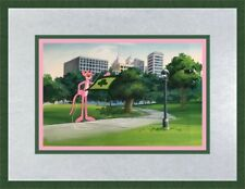 Pink Panther Original Hand Painted Animation Prod Cel & Irish Pink Panther