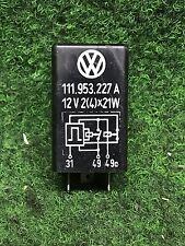 VW Käfer 1302 1303 Blinkerrelais Porsche Relais Blinker 111953227A