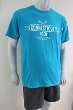 Ct Tennis Open Yale New Haven 2015 Large green T shirt
