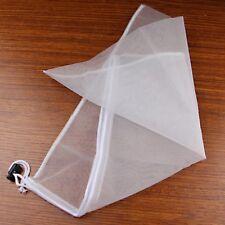 Reusable Nut Almond Milk Strainer Bag Tea Coffee Filter Cheese Mesh Cloth 40cm