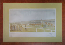 """The Chair in the Grand National of 1934 at Aintree w Drawing by Paul Brown"""