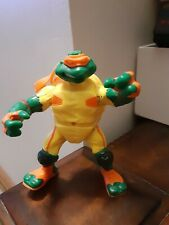 TMNT Extreme Sports Turtles Thrashin Mike 2003 Michaelangelo missing helmet