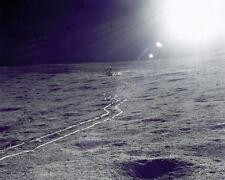 """New 8x10 NASA Photo: Apollo 14 Lunar Module """"Antares"""" on the Moon"""