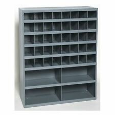 Metal 44 Hole Storage Bolt Bin Cabinet Compartment Nuts Bolts Fasteners Screws